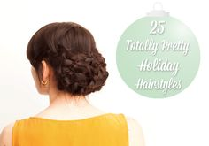 25 Totally Pretty Holiday Hairstyles