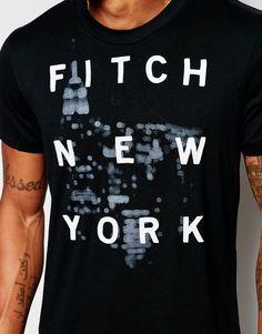 Imagen 3 de Camiseta con estampado New York de Abercrombie & Fitch