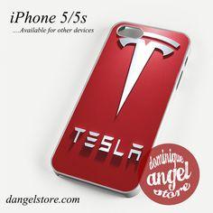tesla logo Phone case for iPhone 4/4s/5/5c/5s/6/6 plus