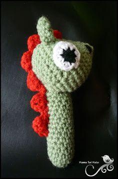 Mamma That Makes: Dragon Rattle