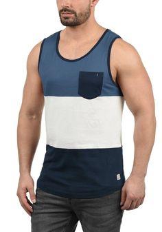 0cf0f3eaf302e3 Blend Tanktop »Neo« ärmelloses Shirt in Color-Block-Optik