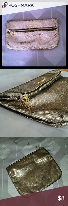 """Victoria's secret vs hold clutch. NWOT New never used. 12 1/4"""" wide. 10"""" length Bags Clutches & Wristlets"""