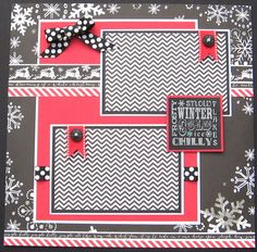 Chalkboard Christmas 12x12 Christmas single by PaisleyPlaceDesigns, $10.95