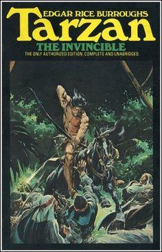 ERBzine 3610: Tarzan Ballantines - Adams and Boris