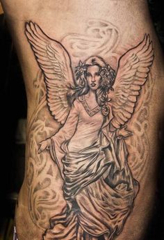 Share Tweet Pin Mail Angel tattoos have long been a popular choice for both the spiritual and non-spiritual person alike. For almost as long ...