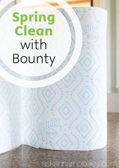 See how easy it is to clean all sorts of messes using Bounty Paper Towels with Dawn!