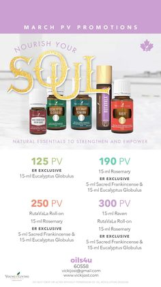 March Promo's for Canada. Sacred Frankincense, Young Living, Essential Oils, March, Canada, Mac, Mars, Essential Oil Blends