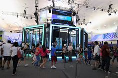 American Express Fan Experience: Longtime sponsor American Express is hosting a fan experience at the stadium that includes a variety of branded tennis-theme imagery and interactive activations for guests. The experience is produced by Momentum Worldwide.
