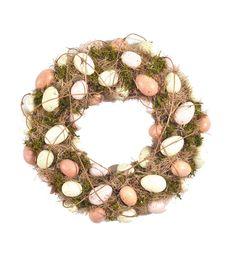 Easter Egg Natural Wreath