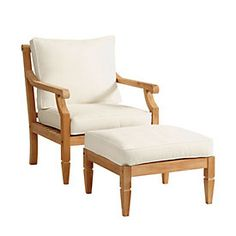 Madison Lounge Chair & Ottoman