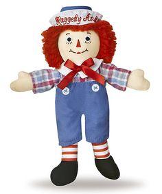 Look at this #zulilyfind! Classic Raggedy Andy Doll #zulilyfinds