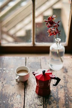 ☜♥☞ café - The little red Bialetti