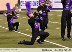 Bellbrook High School Marching Band, Ohio, 2014