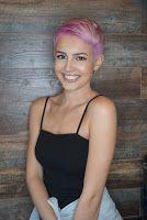 Lisa Cimorelli Has Pink Hair