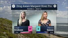 2016 Drug Aware Margaret River Pro (W): Round 2, Heat 6 Video