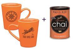 David Rio Chai Tiger Spice 398g + Mug