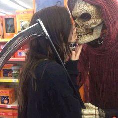 """I kiss the death. I'm afraid of nothing"""