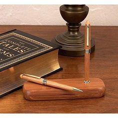 Alex Navarre Durable Bamboo Ballpoint Pen and Pencil Set BF Systems http://www.amazon.com/dp/B0049HBVZ8/ref=cm_sw_r_pi_dp_hGcRvb05PNZE7