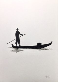 Pencil Sketch Drawing, Art Drawings Sketches Simple, Pencil Art Drawings, Japanese Ink Painting, Japanese Art, Chinese Landscape, Silhouette Art, Hand Art, Art Graphique