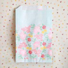 Flower Bouquet Favor Bags