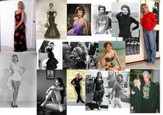 Dramatic Classic Body Types