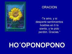 ORACION PARA SANAR RELACIONES - HOOPONOPONO EL PODER DEL AMOR