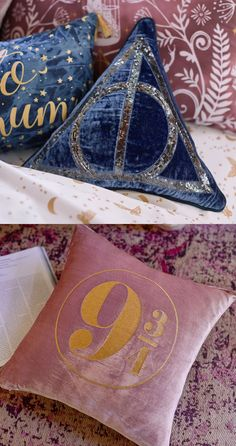 Harry Potter pillows / PBteen
