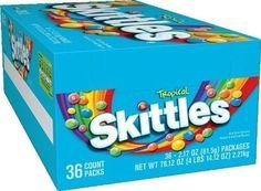 Skittles Tropical - 36 pack 2.17 oz #Skittles