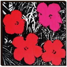Warhol Flowers 1968 Print