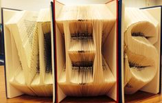 Book art. MHS librarians worst nightmare haha.