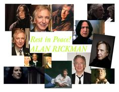 """""""Rest in Peace! Alan Rickman"""" by one-direction-lover-4ever ❤ liked on Polyvore featuring art"""
