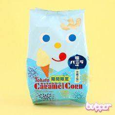 Tohato Caramel Corn - Salted Vanilla Ice Cream