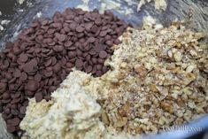 Απίθανα μπισκότα βρώμης με σοκολάτα, καρύδια και ινδοκάρυδο ⋆ Cook Eat Up! Cereal, Healthy Snacks, Oatmeal, Krispie Treats, Rice Krispies, Breakfast, Vegetables, Recipes, Food