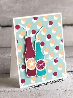Soda Pop Bottle Card Idea | Occasions Catalog 2018