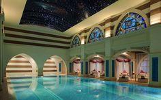 ''Jumeirah Zabeel Saray'' by Arketipo Design #Interior #Spa #Indoor Pool #Oriental
