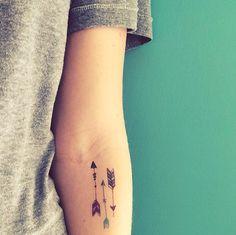 flèche tatouages valentine tatouages tatouages par happytatts