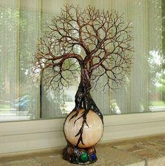 Tree of Life Lamp