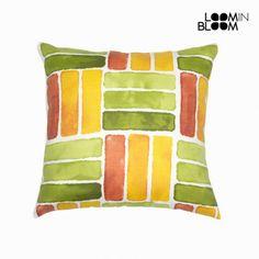 Cojín rayas verde by Loom In Bloom - 803