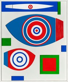 Richard Koppe 1969 Blue Dominance Within White