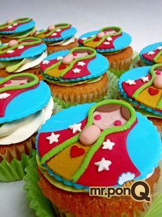 mr.ponQ cup-cakes la personalizamos de acuerdo a tus colores favoritos