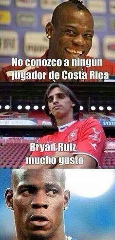 Costa Rica VS Italia. Brasil 2014..1x0