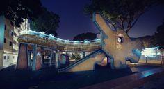 Dragon @ Ang Mo Kio - Old Singapore Playgrouns - Qi Wei