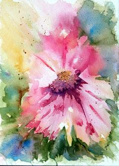 pink abstract watercolor                                                       …