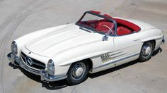 "<p>This gorgeous 300SL roadster is only one of 267 and has a starting bid of <a rel=""nofollow"" href=""http://www.ebay.com/itm/Mercedes-Benz-SL-Class-/301803679304?vxp=mtr"">$1,035,000</a>. Bidding has ended on this item.</p>"