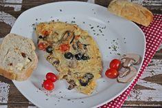 Frühstückstortilla (schmeckt nicht nur zum Frühstück)   http://wp.me/p5v5CK-9S