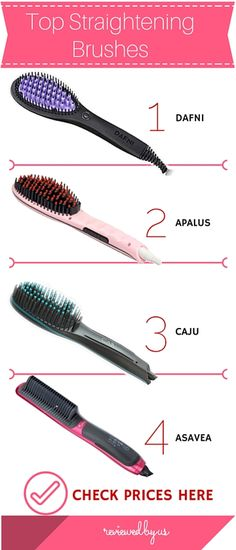 Hot to find the best hair straightening brush? Read our complete buying guide for the best deals on the brush that straightens hair in under 10 minutes
