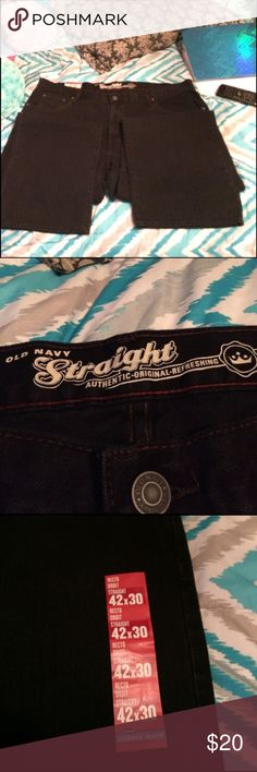 ⚡️HP 3/27/17⚡️Old Navy Jeans Brand New! The tag is still attached! Size is 42X30! Old Navy Jeans Straight