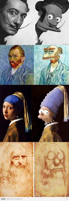simpson art