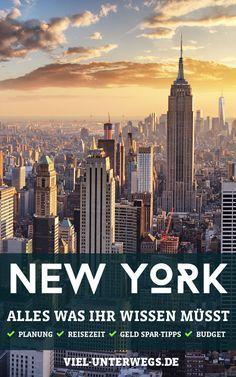 So planst du deine New York Reise stressfrei! Step by Step Anleitung damit du nichts vergisst! #newyork #reisen #reisetipp