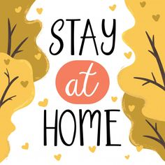 let's stay home, work at home,Stay home, Stay Safe, Social media campaign and coronavirus prevention for reduce risk of infection and spreading the virus. - Buy this stock vector and explore similar vectors at Adobe Stock Graphic Design Templates, Modern Graphic Design, Hand Drawn Lettering, Lettering Design, Lets Stay Home, Stay Safe, Harmony Day, Housewarming Party Invitations, World Icon